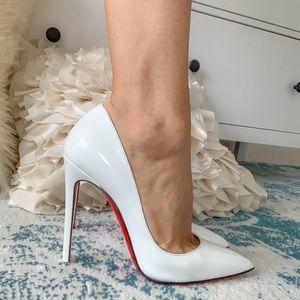 Christian Louboutin Shoes - Christian Louboutin White So Kate